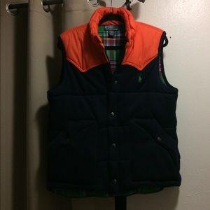 Ralph Lauren men's warm outdoor vest jacket